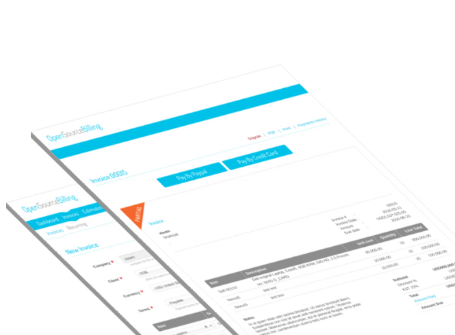 Free And Open Source Invoicing System Techwarzone - Open source invoice system
