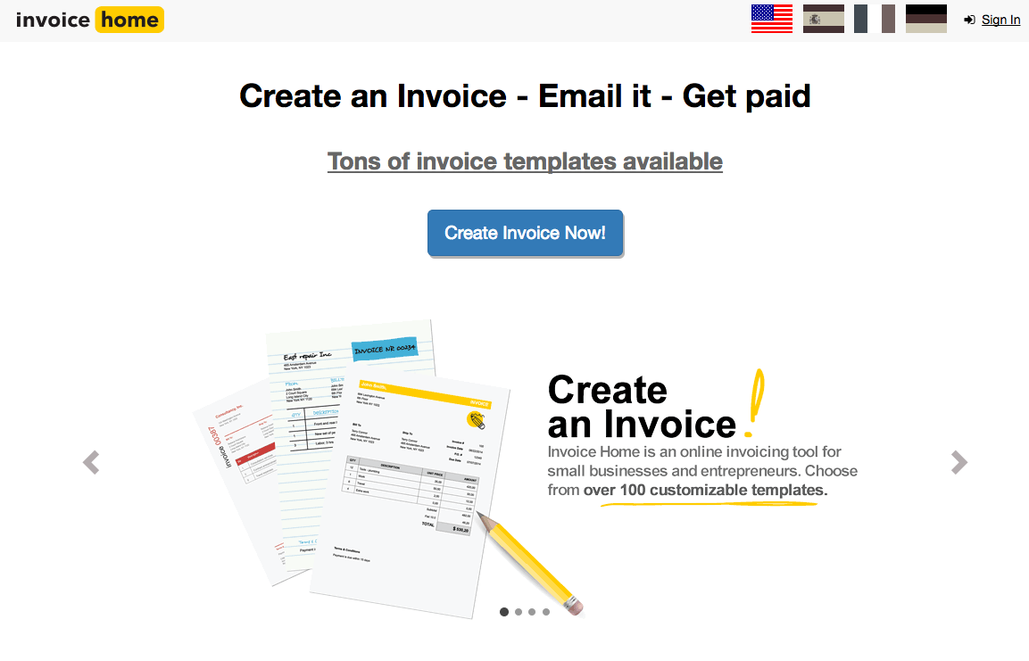 Free And Open Source Invoicing System Techwarzone - Free invoice system